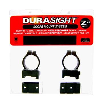 Durasight - Durasight Z-2 Alloy Scope Mount Systems - Winchester 70 Rings and Bases Black - SKU: DS705B