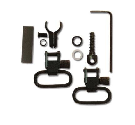 GROVTEC - Grovtec Two Piece Barrel Band Swivel Set .850-.900 1 inch Loops - SKU: GTSW306