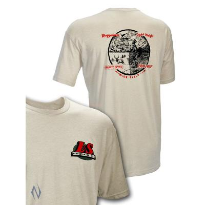 LEUPOLD SS VINTAGE L&S T-SHIRT SAND LGE - SKU: LE172580 - Size: Large, Amazon, Apparel, ebay, leupold, size-large, t-shirts, under-50