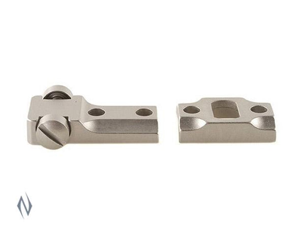 LEUPOLD 2 PIECE BASES STD REM 700 SILVER - SKU: LE57510, 50-100, ebay, leupold, Optics, scope-bases, Scope-Bases-Mounts