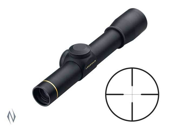 LEUPOLD FX-II 2.5X20 ULTRALIGHT MATTE WIDE DUPLEX - SKU: LE58450, 200-500, ebay, fixed-power, leupold, Optics, rifle-scopes