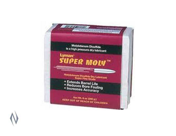 LYMAN SUPER MOLY SUPERFINE POWDER 170GM - SKU: LY-SMP, 50-100, case-cleaning-preparation, ebay, lyman, Reloading-Supplies
