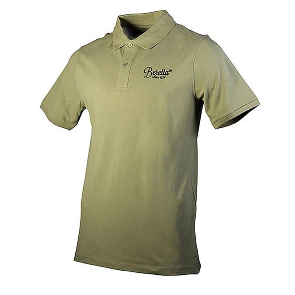 Man Polo Army Green - SKU: MP012-07207-078K/3XL - Size: 3XL, 50-100, Amazon, Apparel, beretta, ebay, polo-shirts, size-3xl