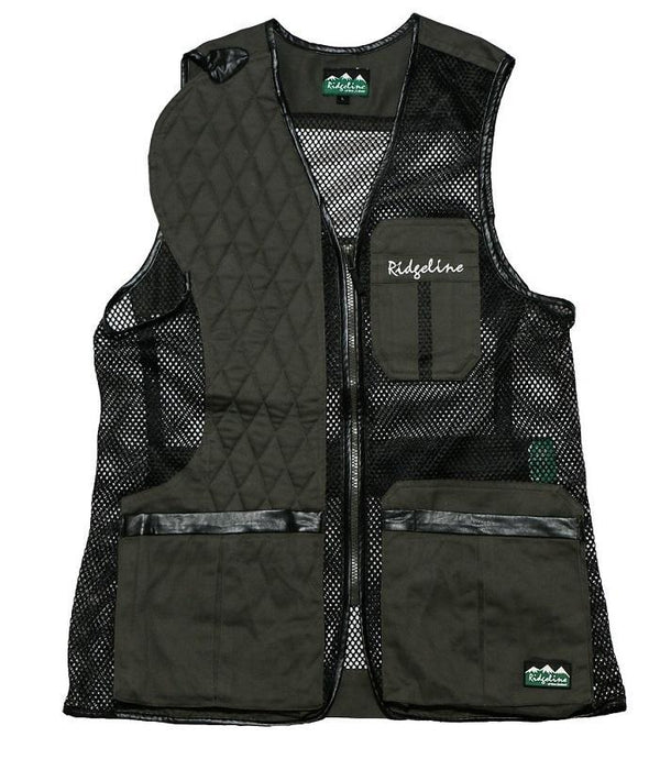 RIDGELINE - COLEMAN SHOOTING VEST OLIVE/BLACK - SKU: RLCVCMO6 - Size: 3XL, 100-200, Amazon, Apparel, ebay, ridgeline, size-3xl, vests