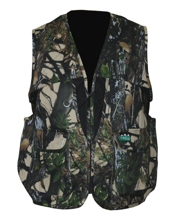 RIDGELINE - SHOVELER GAME VEST BUFFALO CAMO - SKU: RLCVSHX6 - Size: 3XL, 100-200, Amazon, Apparel, ebay, ridgeline, size-3xl, vests