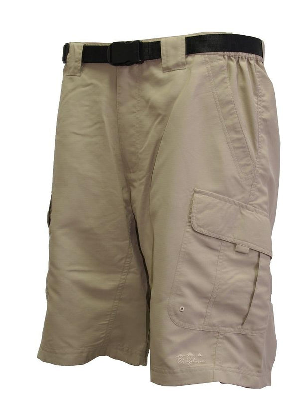 RIDGELINE - Ridgeline Moray Short W/Belt Sand 3XL - SKU: RLSTSMS6 - Apparel, RIDGELINE, Shorts