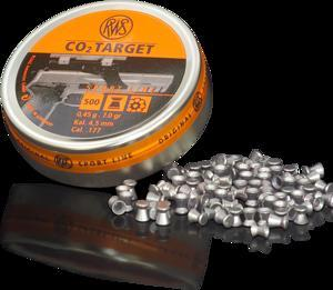 RWS - PELLETS CO2 TARGET .177 0.0.45G - SKU: RWS2135973, air-gun-pellets, Ammunition, rws, under-50