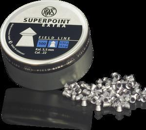 RWS - Superpoint Extra .22 0.94GR Air Rifle/Pistol Pellets - SKU: RWS2136724, air-gun-pellets, Ammunition, rws, under-50