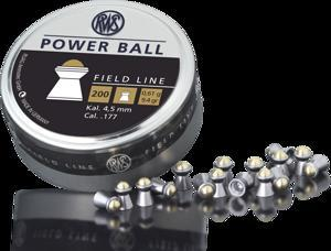 RWS - PELLETS POWER BALL .177 0. 61G BLISTER - SKU: RWS2318605, air-gun-pellets, Ammunition, rws, under-50