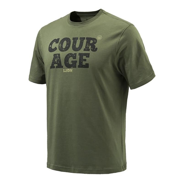 COURAGE T-Shirt Olive 3XL - SKU: TS082-07238-079K/3XL - Size: 3XL, Amazon, Apparel, beretta, ebay, size-3xl, t-shirts, under-50