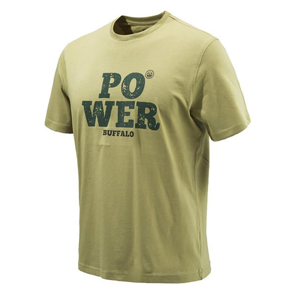 POWER T shirt Antique Bronze - SKU: TS122-07238-013F/3XL - Size: 3XL, Amazon, Apparel, beretta, ebay, size-3xl, t-shirts, under-50