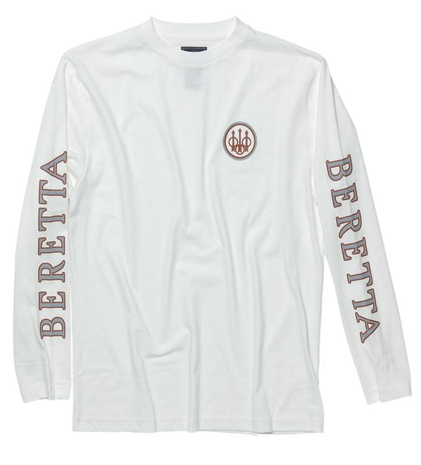 2Logo Long sleeve T-Shirt White 3XL - SKU: TS71-7294-0100/3XL - Size: 3XL, 50-100, Amazon, Apparel, beretta, ebay, size-3xl, t-shirts