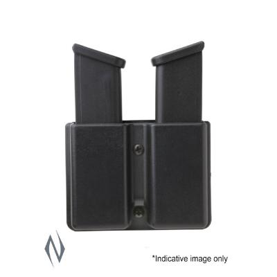 UNCLE MIKES KYDEX HOLDER DOUBLE MAGAZINE DOUBLE STACK BELT - SKU: UM51361, ammo-magazine-pouches, ebay, Shooting-Gear, uncle-mikes, under-50