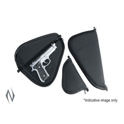 UNCLE MIKES PISTOL RUG BLACK SMALL 8 inch - SKU: UM52201, ebay, Gun-Bags-Cases, handgun-bags-cases, Shooting-Gear, uncle-mikes, under-50