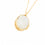 Gold Moonstone Locket