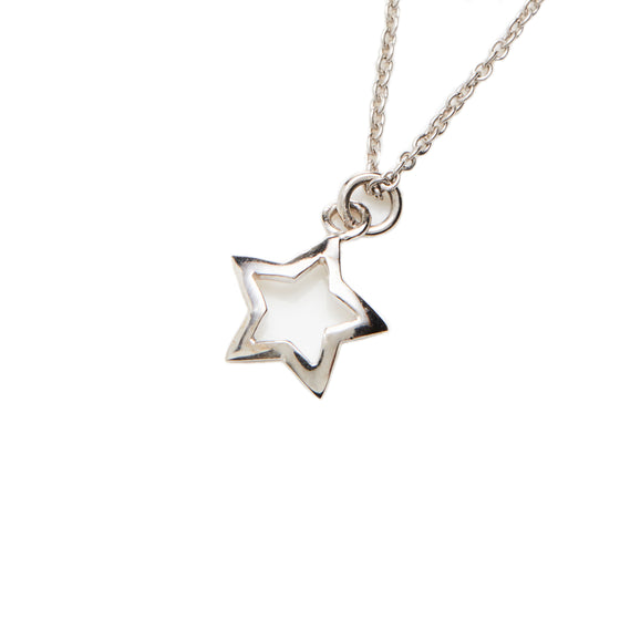 Sterling Silver Star Necklace- Mini Me