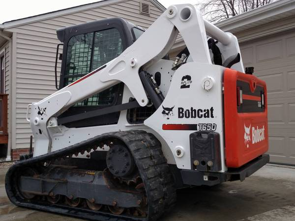2016 BOBCAT T650 TRACK SKID STEER LOADER ENCLOSED CAB HIGH FLOW AUXILIARIES  #BF9455509-479-MYROH