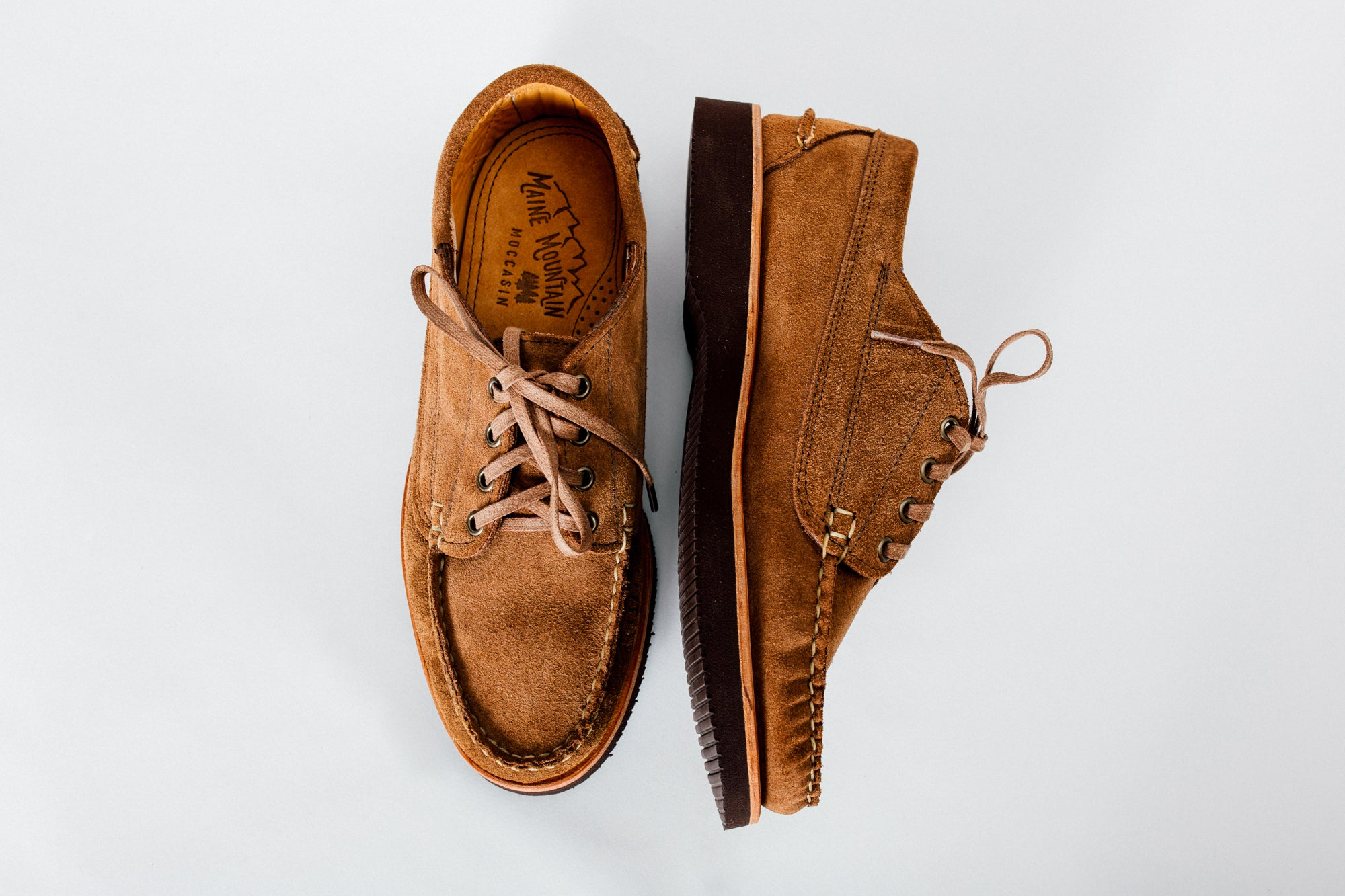 a5e9698c0cb Maine Mountain Moccasin handsewn shoes made in Maine