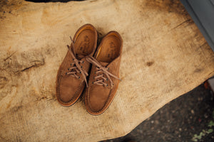 Blucher Oxford-LN Rough Out Tan-Vibram 2060 Brown