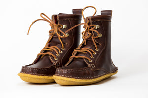 Crepe Wrapped Boot-Brown Chromexcel-Honey Crepe (Woolrich Lined)