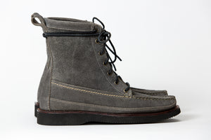 7 Eyelet Field Boot-Gum Metal WP Roughout-Vibram 2060 Black
