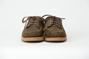 Blucher Oxford-Roughout Waxed Coyote Sumner-Vibram 2060 Sahara