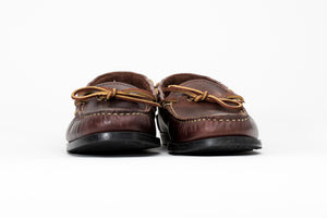 Camp Moccasin- Walnut York- Black Camp Sole