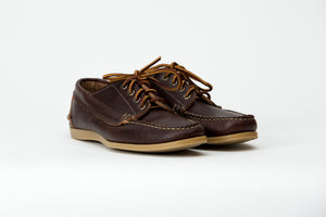 Blucher Oxford-Chromexcel Swirl Grain Gum Camp Sole