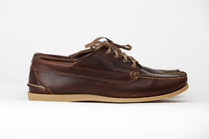 Blucher Oxford-Brown Chromexcel-Gum Camp Sole