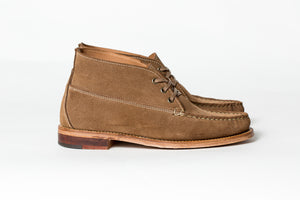 3 Eyelet Chukka- LN Roughout-Leather Outsole/Combination Heel