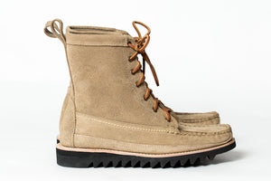 7 Eyelet Field Boot-Light Tan Rough & Ready-Vibram Ripple Sole