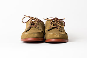 Blucher Oxford-Cumberland Palm- Brick Red Camp Sole