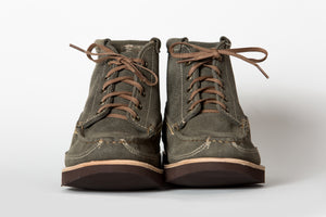 Scout Boot (Updated Version)-Sage Roughout WP-Vibram 2060 Brown