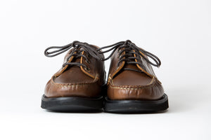 Blucher Oxford-Dark Brown Rustic Hiker-Vibram 2060 Black