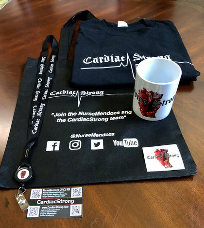 CardiacStrong Swag Bag Bundle