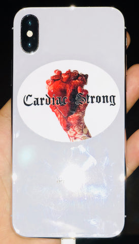 CardiacStrong Cell Phone Mobile/LapTop Sticker