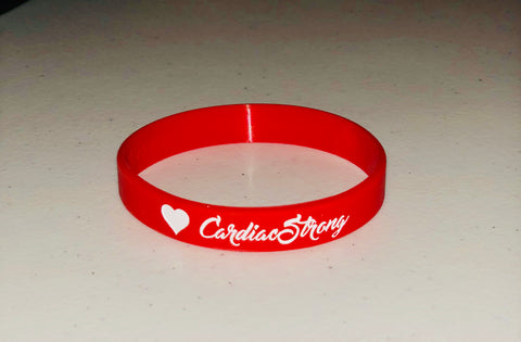CardiacStrong Bracelet Raising Cardiac Awareness