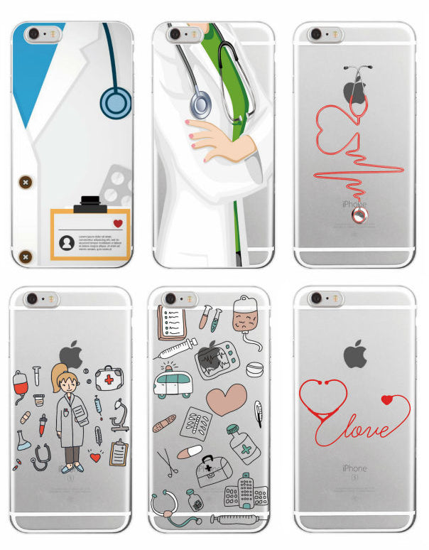 2fc6b1a5d1 Trendy Nurse Phone Case Cover For iPhone and Samsung - 6 Designs ...