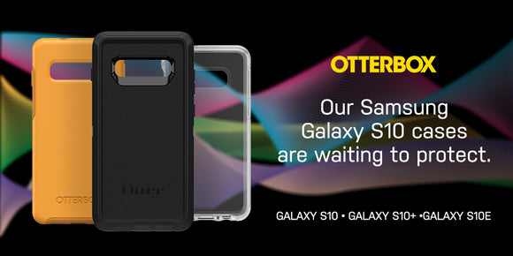 OtterBox Cases for the new Samsung Galaxy S10