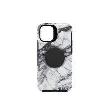 Otter + Pop Symmetry Series for iPhone 12 mini, White Marble