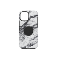 Otter + Pop Symmetry Series for iPhone 12 Pro Max, White Marble
