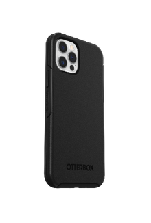 OtterBox Symmetry Series+ MagSafe Compatible for iPhone 12 and iPhone 12 Pro, Black