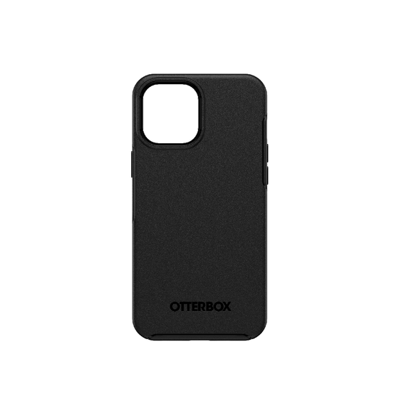 OtterBox Symmetry Series+ MagSafe Compatible for iPhone 12 Pro Max, Black