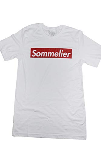 Cristie Norman, Inc. Sommelier T-Shirt Gift for Somms (Small)