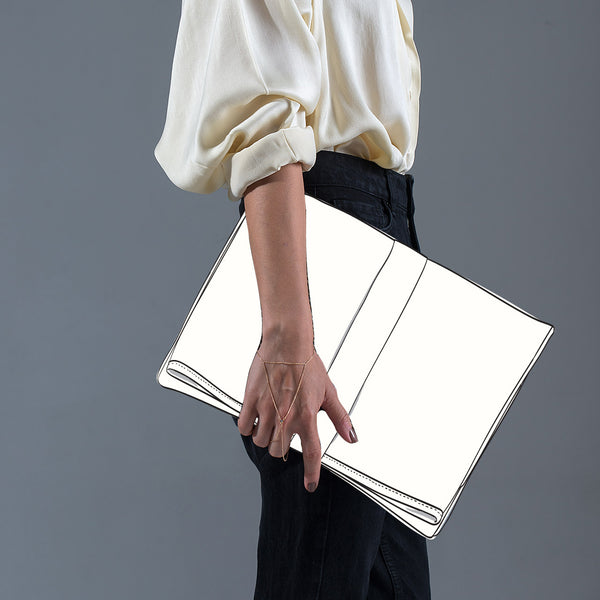 fold over clutch 0046