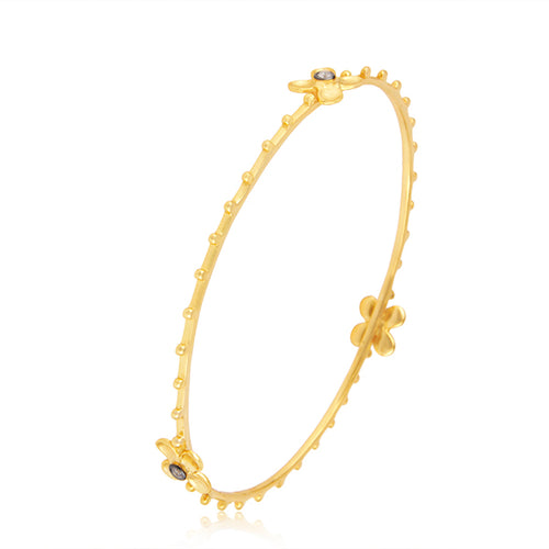 Lotus Lily Studded Bangle