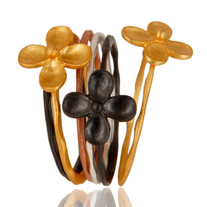 Lotus Lily Stackable Rings