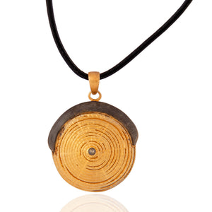 Anoushka Spiral Necklace