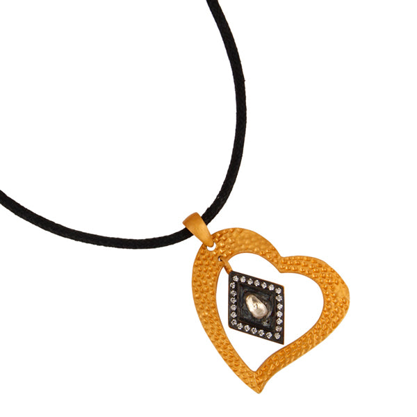 Hearts Aflame Necklace