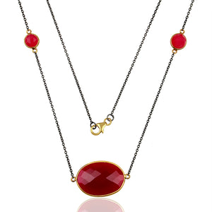 Chiara Gemstone Necklace